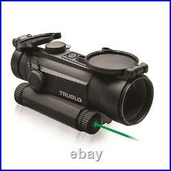 TruGlo Tru-Tec Red-Dot 30mm Sight-Green Laser Box