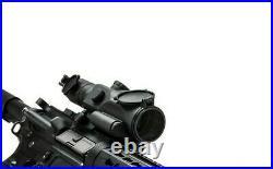 VISM SRT Gen-3 Armored Scope 3-9X40 MD with Green Laser QR Mount Sight Scope BLK