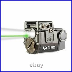 Viridian 100 Yard Green Laser Sight and Tactical Gun Light with Holster(For Parts)