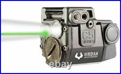Viridian C5L SubCompact Green Laser Sight with 100 Lumen Tactical Light 930-0006
