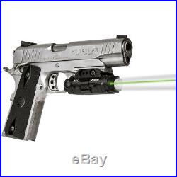 Viridian Green Laser Sight with Tactical Light and HD Camera, Black