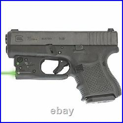 Viridian Reactor 5 Green laser sight for Glock 26/27 featuring ECR Includes H