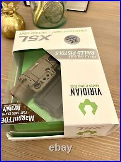 Viridian X5L Gen 2 FDE- Rare Tactical Light Green laser sight