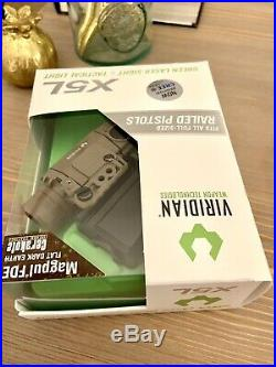 Viridian X5L Gen 2- Rare Tactical Light Green laser sight