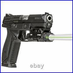 Viridian X5L Gen 3 Rechargeable Battery Laser and Tactical Light Green Gun Sight