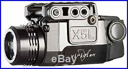 Viridian X5L Green Laser Sight and Tac Light, Universal Rail Mount, ECR