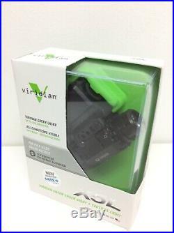 Viridian X5L Universal Green Laser/Light Combo, X5L Laser Sight + Tactical Light