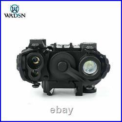 WADSN DBAL-A2 Green & IR Laser Weapon Light PEQ Laser Sight With QD Mount NEW